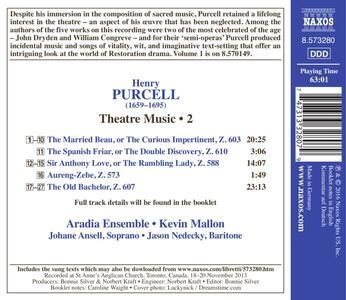 Theatre Music vol.2 - CD Audio di Henry Purcell - 2