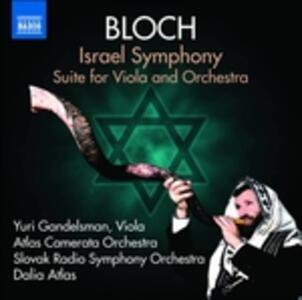 Opere Orchestrali vol.4 - CD Audio di Ernest Bloch