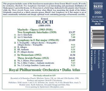 Opere orchestrali - CD Audio di Ernest Bloch - 2