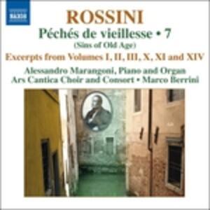 Opere per Pianoforte vol.7 - CD Audio di Gioachino Rossini,Alessandro Marangoni