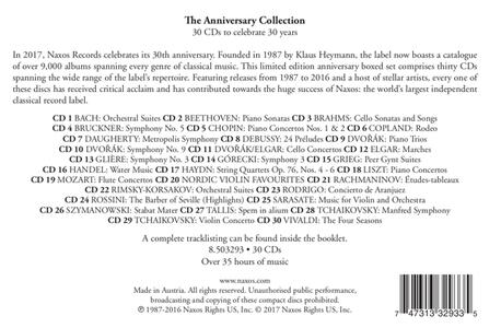The Anniversary Naxos Collection - CD Audio - 2