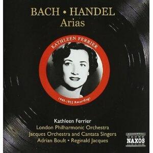 Oratorio dell'Ascensione / Arie da oratori - CD Audio di Johann Sebastian Bach,Georg Friedrich Händel,Kathleen Ferrier,Sir Adrian Boult,London Philharmonic Orchestra
