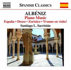 Opere per pianoforte vol.6 - CD Audio di Isaac Albéniz