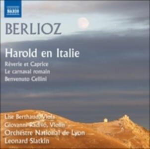 Aroldo in Italia e altre opere orchestrali - CD Audio di Hector Berlioz,Leonard Slatkin