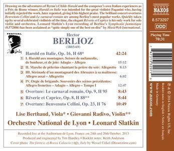 Aroldo in Italia e altre opere orchestrali - CD Audio di Hector Berlioz,Leonard Slatkin - 2