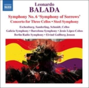 Opere orchestrali - CD Audio di Leonardo Balada