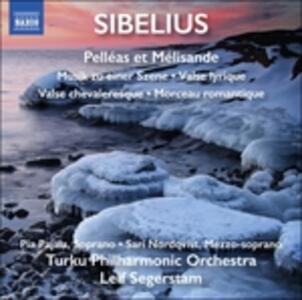 Pelléas et Mélisande - Musik Zu Einer Szene - Valse lyrique - Valse chevaleresque - Morceau romantique - CD Audio di Jean Sibelius