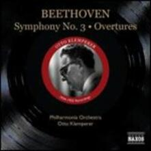 Sinfonia n.3 - Ouvertures Leonore I, III - CD Audio di Ludwig van Beethoven,Otto Klemperer,Philharmonia Orchestra