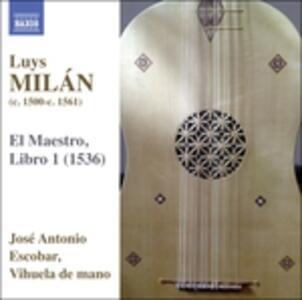 El Maestro. Libro I - CD Audio di Luys Milan