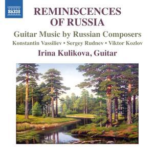 Reminiscences of Russia - CD Audio di Irina Kulikova