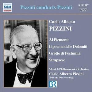 Al Piemonte - Poema delle Dolomiti - Grotte di Postumia - Strapaese - CD Audio di Carlo Alberto Pizzini