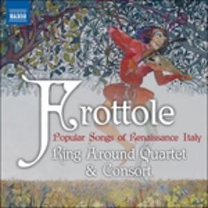 Frottole. Canti popolari del Rinascimento - CD Audio
