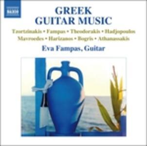 Opere per chitarra di compositori greci - CD Audio di Eva Fampas