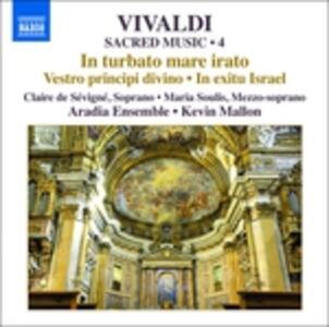 In Turbato Mare Irato. Musica sacra vol.4 - CD Audio di Antonio Vivaldi