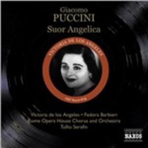 Suor Angelica - CD Audio di Giacomo Puccini,Tullio Serafin,Orchestra del Teatro dell'Opera di Roma,Coro dell'Opera di Roma