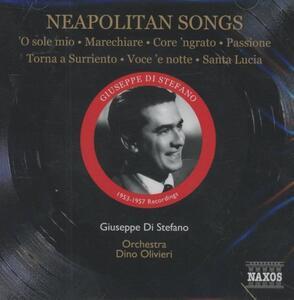 Canzoni napoletane - CD Audio di Giuseppe Di Stefano