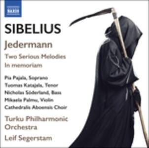 Jedermann op.53 - Melodie op.77 - In memoriam - CD Audio di Jean Sibelius
