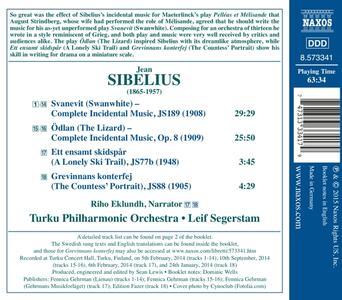 Musiche di scena - CD Audio di Jean Sibelius - 2