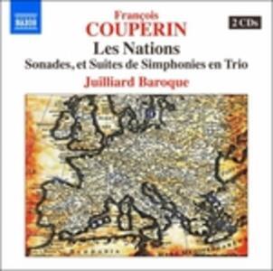 Les nations - CD Audio di François Couperin,Juilliard Ensemble