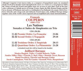Les nations - CD Audio di François Couperin,Juilliard Ensemble - 2
