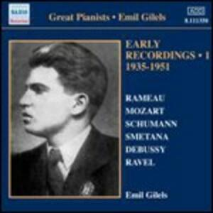 Early Recordings vol.1 1935-1951 - CD Audio di Emil Gilels