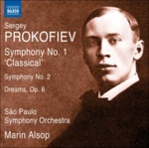 Sinfonie n.1, n.2 - CD Audio di Sergej Sergeevic Prokofiev