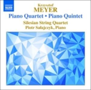 Quartetto e quintetto con pianoforte - CD Audio di Krzysztof Meyer