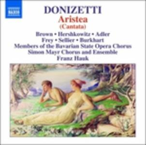 Aristea - CD Audio di Gaetano Donizetti