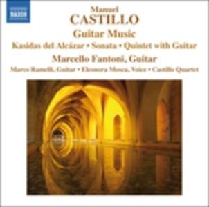 Opere per chitarra - CD Audio di Manuel Castillo