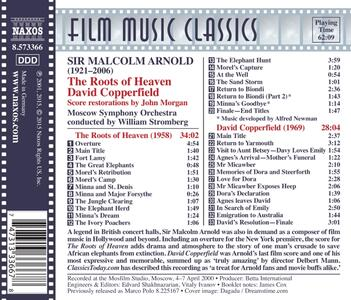 The Roots of Heaven - David Copperfield - CD Audio di Malcolm Arnold - 2