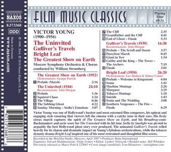The Uninvited - I Viaggi di Gulliver - Le Foglie D'oro (Colonna Sonora) - CD Audio di Victor Young - 2