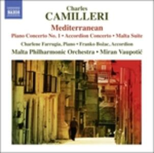 Concerto per pianoforte - Suite Malta - CD Audio di Charles Camilleri