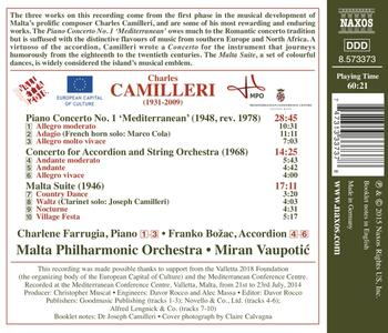 Concerto per pianoforte - Suite Malta - CD Audio di Charles Camilleri - 2