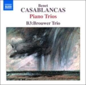 Trii per pianoforte e archi - CD Audio di Benet Casablancas