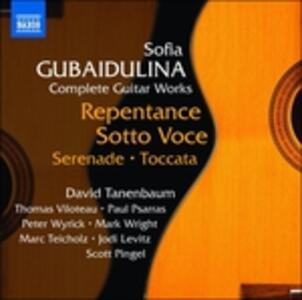 Opere per chitarra - CD Audio di Sofia Gubaidulina
