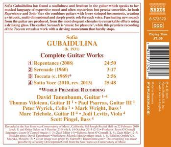 Opere per chitarra - CD Audio di Sofia Gubaidulina - 2