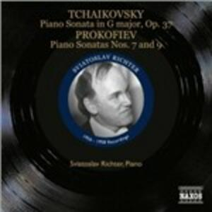 Grand Sonata op.37 / Sonate n.7, n.9 - CD Audio di Sergej Sergeevic Prokofiev,Pyotr Il'yich Tchaikovsky,Sviatoslav Richter