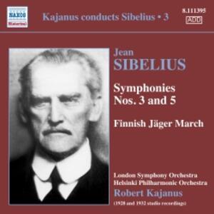 Sinfonie N.3, N.5 - CD Audio di Jean Sibelius