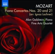 Concerti per pianoforte n.20 K466, n.21 K467 - CD Audio di Wolfgang Amadeus Mozart