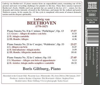 Sonate per pianoforte n.8, n.21, n.32 - CD Audio di Ludwig van Beethoven,Boris Giltburg - 2
