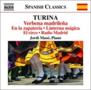 Integrale delle opere per pianoforte vol.11 - CD Audio di Joaquin Turina