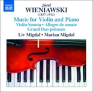 Musica per violino e pianoforte - CD Audio di Jozef Wieniawski