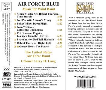 Air Force Blue - CD Audio di Larry H. Lang - 2