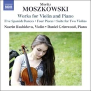 Musica per violino e pianoforte - CD Audio di Moritz Moszkowski