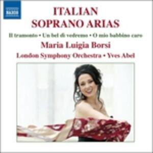 Arie per soprano - CD Audio di Maria Luigia Borsi