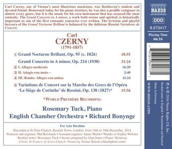 Grand Concerto in La minore op.214 - Gran Notturno brillante - CD Audio di Carl Czerny - 2