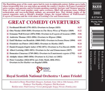Great Comedy Overtures - CD Audio di Royal Scottish National Orchestra,Lance Friedel - 2