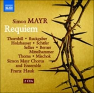 Requiem - CD Audio di Johann Simon Mayr