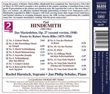 Das Marienleben (La vita di Maria) - CD Audio di Paul Hindemith - 2