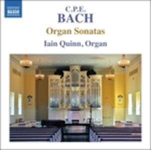 Sonate per organo - CD Audio di Carl Philipp Emanuel Bach